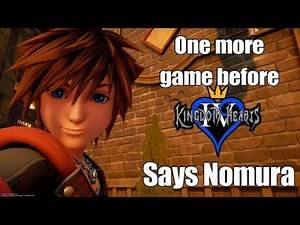 THE NEXT KINGDOM HEARTS GAME BEFORE KINGDOM HEARTS 4 (Kingdom Hearts 3 Ultimania)