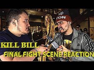 KILL BILL FINAL FIGHT SCENE (Reaction)