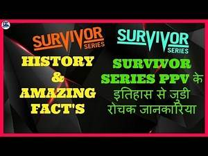 WWE Survivor Series PPV Amazing Facts & History