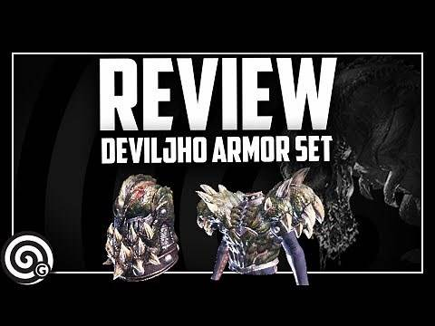 Deviljho Armor Set Review | Monster Hunter World