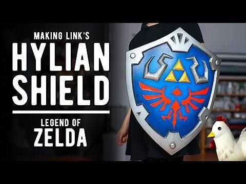 Making Link's Hylian Shield   Legend of Zelda