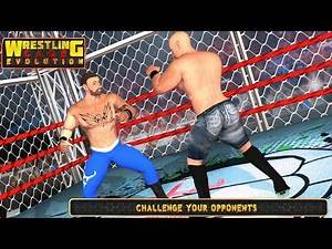 Wrestling Cage Evolution (by Big Time Games) Android Gameplay [HD]