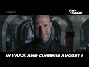 Fast & Furious: Hobbs & Shaw | Final Trailer | In Cinemas August 1