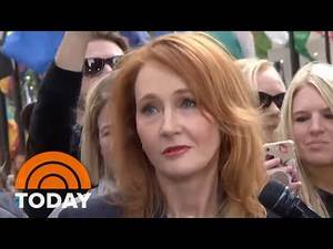 J.K. Rowling And 'Fantastic Beasts' Cast Stop By The TODAY Plaza   TODAY