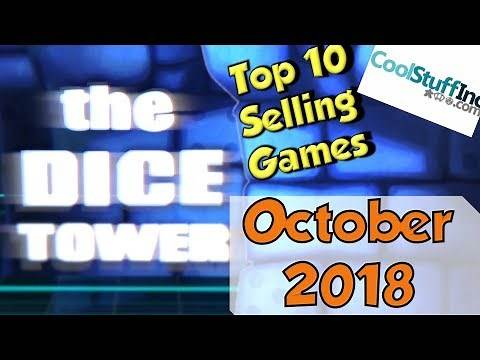 Top 10 Selling Games: October 2018