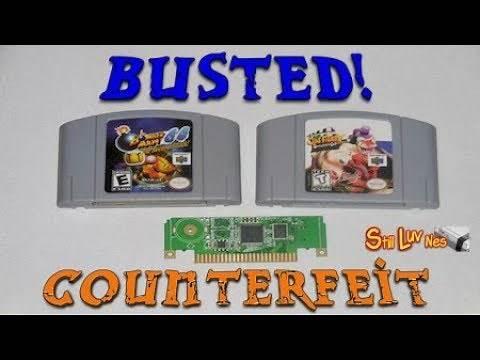 How to Spot Counterfeit  Fake Nintendo 64 Games - Still-Luv-Nes