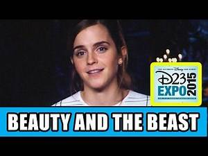 BEAUTY AND THE BEAST D23 Expo Panel