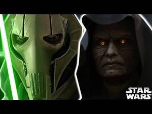 Why Darth Sidious Was AFRAID of General Grievous - Star Wars Explained