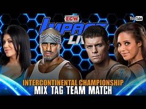 Intercontinental Championship Mix Tag Team Match | ECW IMPACT LIVE! April 9, 2020