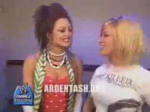 WWE Divas Ashley Massaro and Maria Talk Backstage