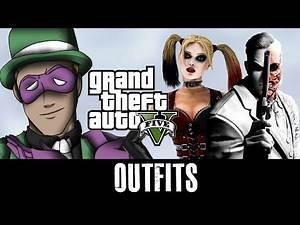 GTA 5 Online - Outfits (Batman Villains SPECIAL)