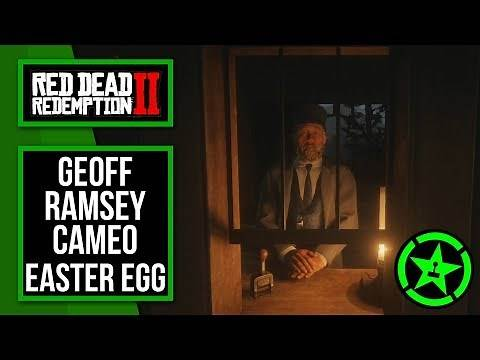 Red Dead Redemption 2 | Achievement Hunter/Geoff Ramsey Cameo Easter Egg
