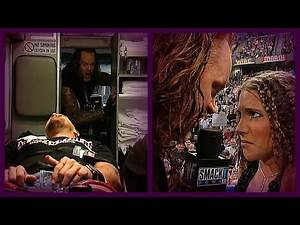 The Undertaker's Night of Destruction (Undertaker Throws Stone Cold Through A Window)! 5/3/01