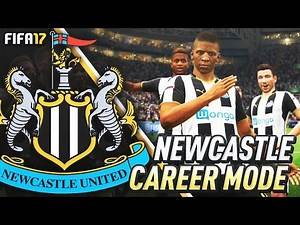 HOWAY THE LADS!!! FIFA 17 Newcastle United Career Mode #1