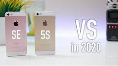 Apple iPhone 5S VS iPhone SE - Worth the Upgrade? 2020