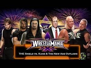 WWE 2K14 - The Shield vs. Kane & New Age Outlaws (Sim)