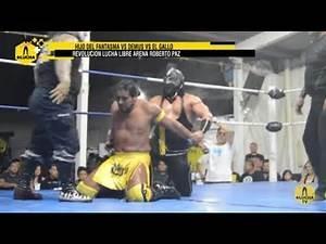 Hijo del Fantasma vs Demus vs El Gallo, Revolución Lucha Libre