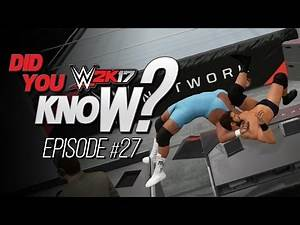 WWE 2K17 Did You Know? Finisher to Finisher Reversals, Announce Table Pin Combos & More (Episode 27)