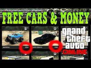 FREE Vehicles & Money In GTA 5 Online!!!!