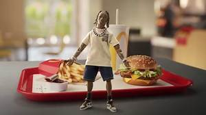 Travis Scott's McDonald's Merchandise Includes $50 Slides