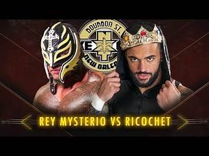 Rey Mysterio vs Ricochet Highlights - NXT Takeover: New Orleans - WWE 2K18