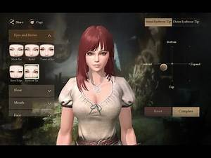 (iOS) Rangers of Oblivion - Female character Creation & All weapons showcase