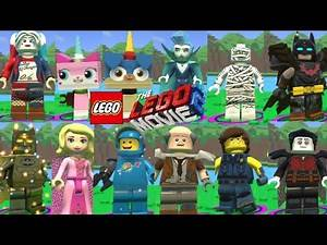 Lego Movie 2 Video Game - All Characters - Unlocked