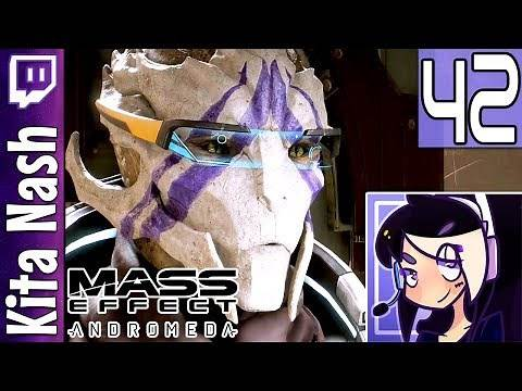 Mass Effect Andromeda Livestream: VETRA LOYALTY MISSION |Part 42| Biotic Female Ryder Gameplay