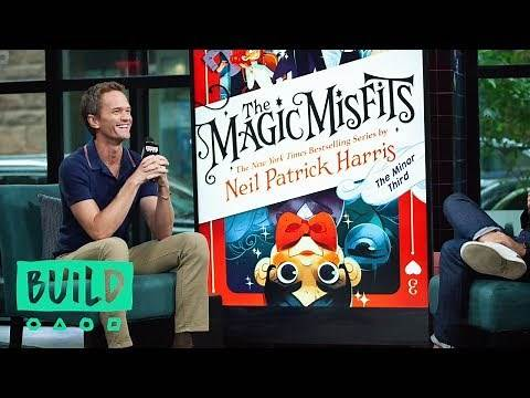 """Neil Patrick Harris Chats About His Latest Children's Book, """"The Magic Misfits: The Minor Third"""""""