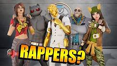 What If Fortnite BOSSES Were RAPPERS?!