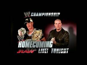 WWE RAW: Homecoming 03/10/2005 - Official And Full Match Card HD (Vintage)