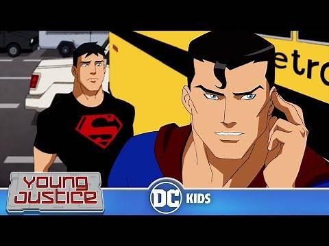 Young Justice   Super Standoff   DC Kids