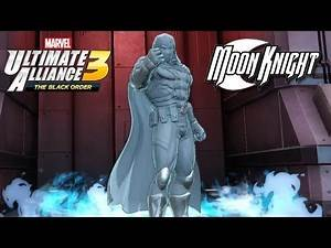 Marvel Ultimate Alliance 3 Moon Knight Unlocked! (Gauntlet Mode: Blood Moon Rising)