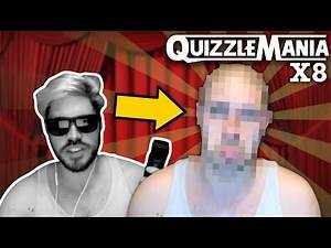 Adam Blampied Shaves His Head, Beard AND Eyebrows For Charity! (QuizzleMania X8 Compilation)