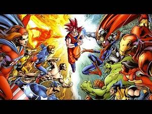 Rate Your Characters Top 88 - DC Comics and Marvel Super Heroes and Dragon Ball Z / GT (DBZ) = Anime