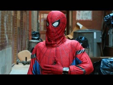 """""""Call Me Spider-Man"""" - Suit Up Scene - Stan Lee Cameo - Spider-Man: Homecoming (2017) Movie CLIP HD"""