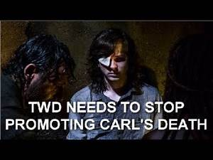 The Walking Dead Needs To Stop Promoting Carl's Death