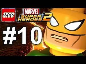 LEGO Marvel Super Heroes 2 Gameplay #10 - The Iron Fist