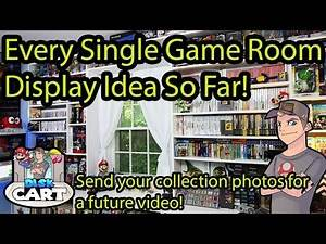 ALL Game Room Display Ideas ! And send in your game room or game collection photos!