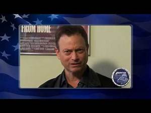 Gary Sinise supports the troops by helping our Troopathon