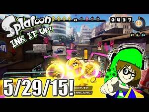 Splatoon - Ink It Up! - 5/29/15! Let the Squid Begin!