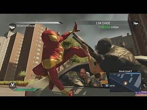 The Amazing Spider-Man 2 - Spiderman vs Bad Guys at Bus Station - Game Episode #10