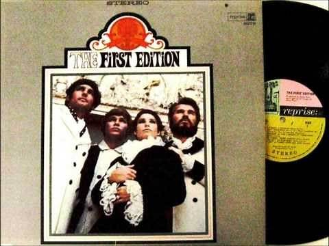 JUST DROPPED IN , KENNY ROGERS & THE FIRST EDITION , 1967 VINYL LP