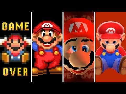 Evolution of Game Overs in Mario Games (1985-2019)