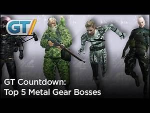 Top 5 Metal Gear Bosses