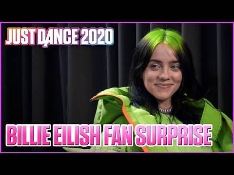 Billie Eilish Surprises Her Biggest Fans | Just Dance 2020