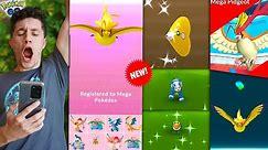 EVOLVING TO NEW * MEGA PIDGEOT * in Pokémon GO!