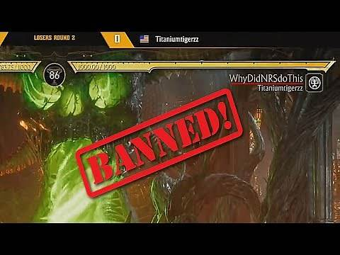 MK11 - Pro Player BANNED Mid-Game For Variation Name