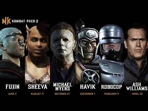 KOMBAT PACK 2 RELEASE DATE?!Mortal Kombat 11 KP2,Michael Myers,Ash Williams and many many more!