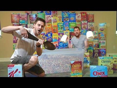 BUYING ALL THE CEREAL FROM WALMART!
